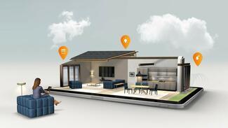 Ein Smart Home kann seinen Bewohnern alltägliche Dinge und Prozesse erleichtern und gleichzeitig den Einbruchschutz erhöhen.