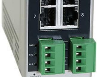 Der neue PoE-Switch liefert die notwendige Leistung für stromintensive Geräte.