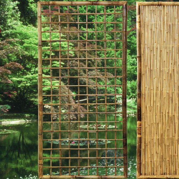 rankgitter bambus zen