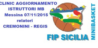 Clinic Minibasket a Messina