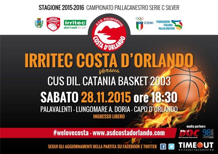 Costa D'Orlando - Cus Catania