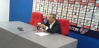 Ugo Ducarello in sala stampa