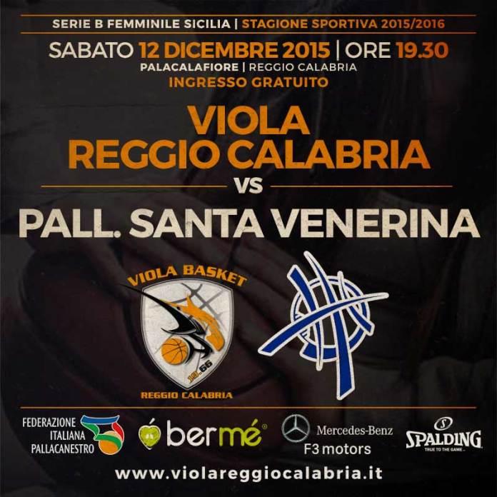 Viola Reggio Calabria -Santa Venerina