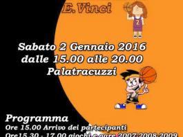 Seconda festa minibasket Enrico Vinci