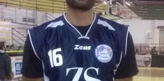 Gigi Russo in maglia Gruppo Zenith Messina