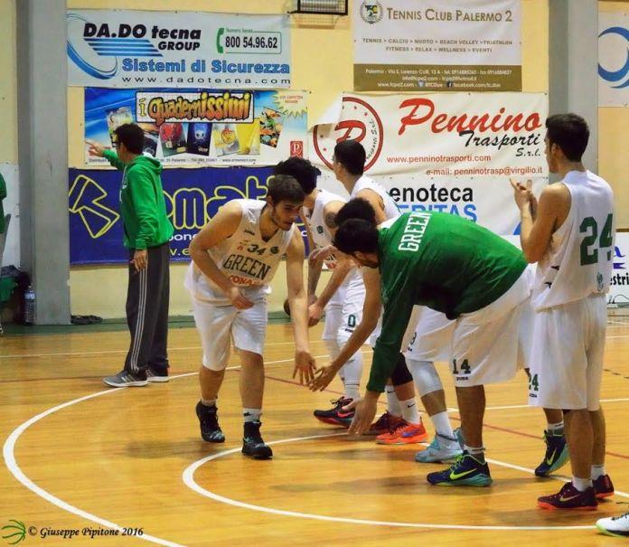 Green Basket Palermo durante la presentazione