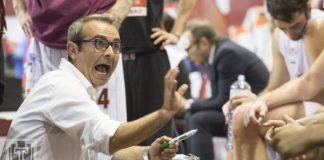 Pallacanestro Trapani in conferenza con coach Ducarello. E' tempo di derby contro Agrigento