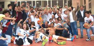 La gioia dell'Alfa Catania per la promozione