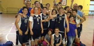 Cestistica Licata Under 13 campione regionale 2016