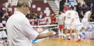 Ugo Ducarello coach Pallacanestro Trapani