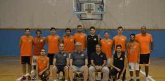 Coach Anselmo con l'Amatori Basket Messina