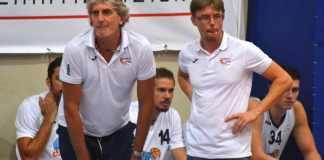 I coach dell'Alfa, Salvatore Taormina e Andrea Bianca