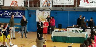 Premiazione col delegato provinciale Mario Maggio