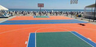 Verrà inaugurato in Sicilia il primo campo da pallacanestro itinerante