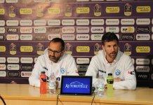 Di Carlo e Diener in conferenza stampa