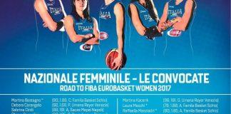 Consolini, Formica e Gorini in raduno con la Nazionale per Eurobasket 2017