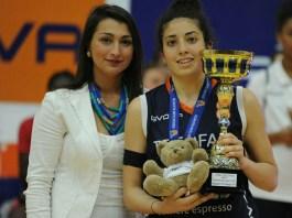 Costanza Verona Mvp del Torneo U18 Femminile