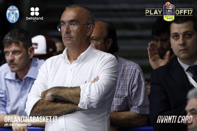 Enzo Sindoni presidente Betaland Capo d'Orlando