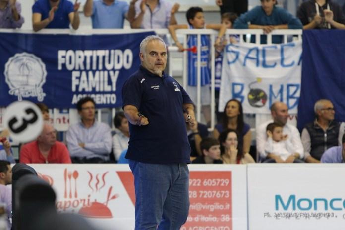 Franco Ciani nel derby casalingo contro Trapani