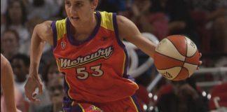 Susanna Bonfiglio con la maglia delle Phoenix Mercury