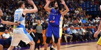 Belinelli contro l'Ucraina a Eurobasket 2017