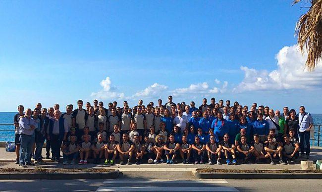 Gli arbitri siciliani in raduno a Capo d'Orlando (2017)