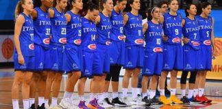 Nazionale basket Femminile