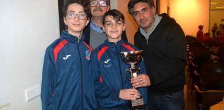 Luca Carbonaro, Carmelo Carbone, Logan Coricciati e Umberto Pioletti