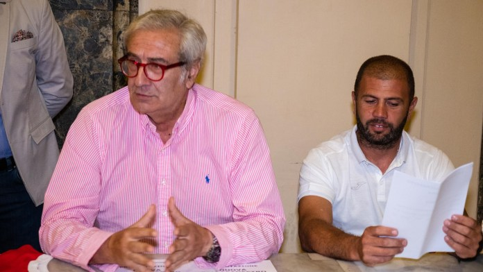 Il consulente del Presidente Francesco Anselmo e coach Pizzuto