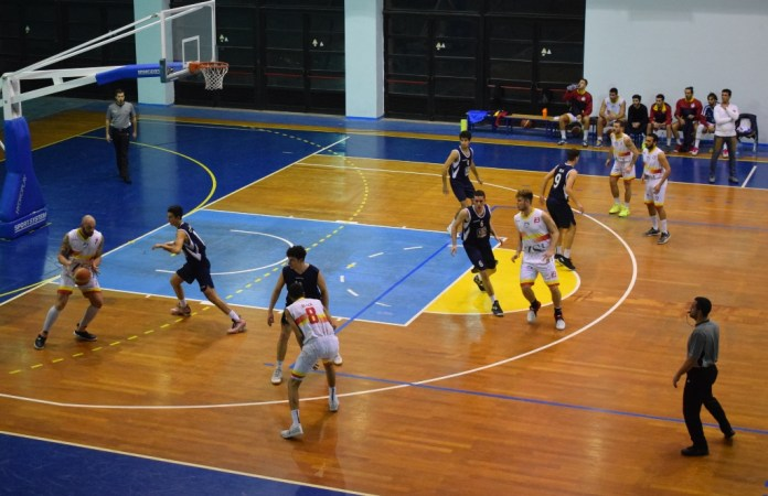 Una Fase del match ZS Group Messina - CUS Catania