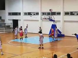 invicta caltanisetta - nuova pallacanestro messina cocuzza