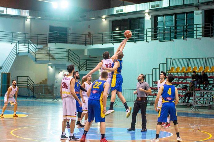 BSM-Giarre palla a due (Foto Giovanni Mazzullo)