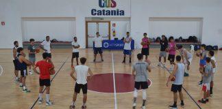 Gruppo Alfa Catania in allenamento