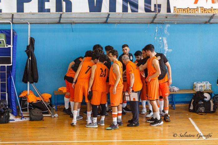 Amatori Basket Messina in panchina - photo Salvo Garreffa