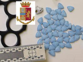 50 pasticche di ecstasy nella stanza da letto della nonna, arrestato