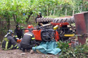 Incidente a Sambuca, morto un uomo di 73 anni