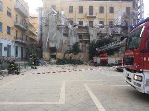 """""""Crollo piazza Cavour"""", a breve gli interventi di ripristino sicurezza"""