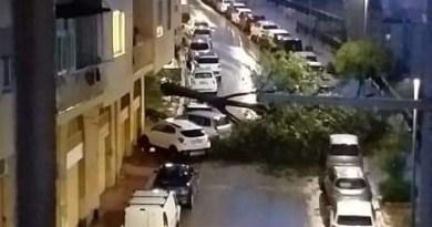 Maltempo e danni ad Agrigento