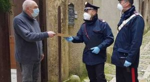 I Carabinieri consegneranno a domicilio le pensioni agli over 75