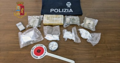 Cocaina ed eroina, arrestata nonna e due nipoti