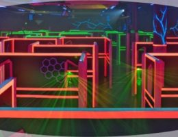 Laser game a Catania