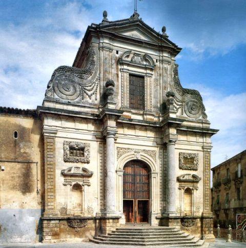 Caltagirone Basilica di San Giacomo