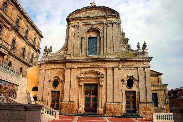 Caltagirone Chiesa S.Maria del Monte