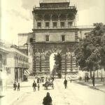 Foto antiche di Palermo - Porta Nuova (primi 900)