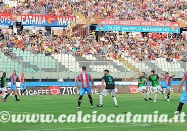 Catania - Virtus Francavilla 2-1 Col carattere si vince