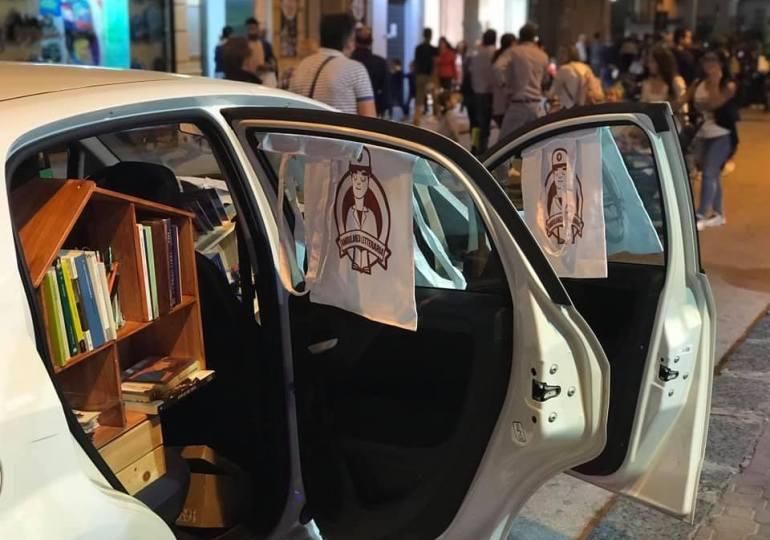 Ambulanza letteraria, continua la biblioterapia on the road