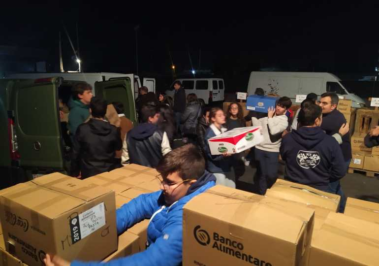 Banco alimentare: Catania campione di generosità