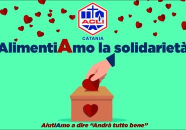 """""""AlimentiAmo la Solidarietà"""": al via raccolta fondi di Acli Catania"""