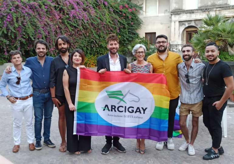 Nuovo direttivo Arcigay Catania:  Armando Caravini è il nuovo presidente, alla vicepresidenza Vera Navarria