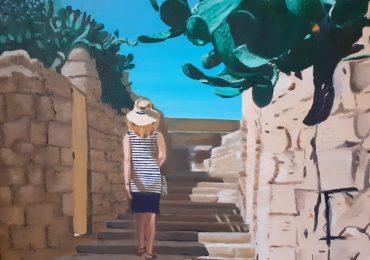 I colori che raccontano l'amore, la mostra di Graziella Torrisi a Zafferana Etnea